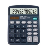 得力 837ES  12位桌面型计算器
